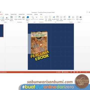 Langkah 6 Buat Imej Iklan Dengan Powerpoint