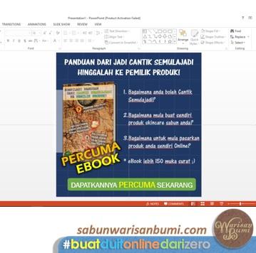 Langkah 7 Buat Imej Iklan Dengan Powerpoint