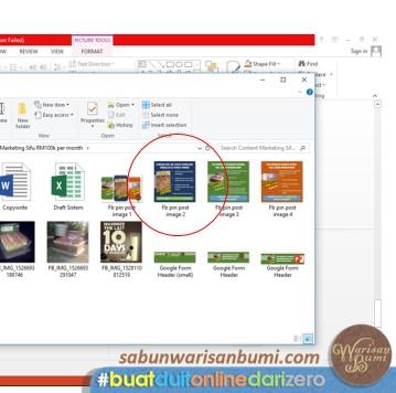 Langkah 9 Buat Imej Iklan Dengan Powerpoint
